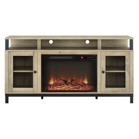 """65"""" Praxton Fireplace Tv Stand For Tv's Up To Natural - Room & Joy - image 1 of 4"""