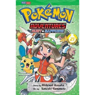 Pokémon Adventures (Ruby and Sapphire), Vol. 21, Volume 21 - by  Hidenori Kusaka (Paperback)