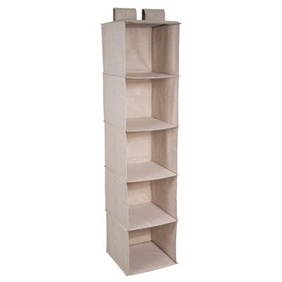 Bigso Box of Sweden Soft Storage Hanging Closet Organizer