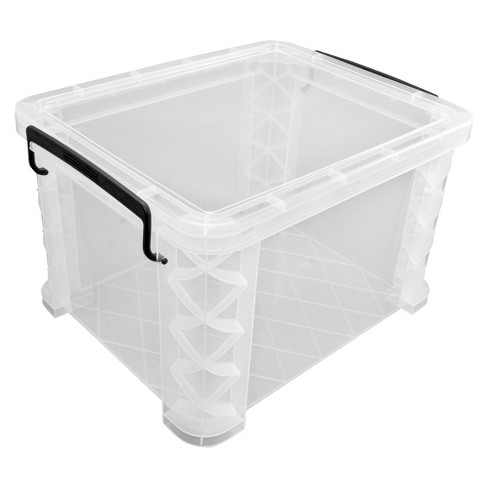 "Clear Box File 14"" x 18"" x 11"" - Room Essentials™ - image 1 of 2"