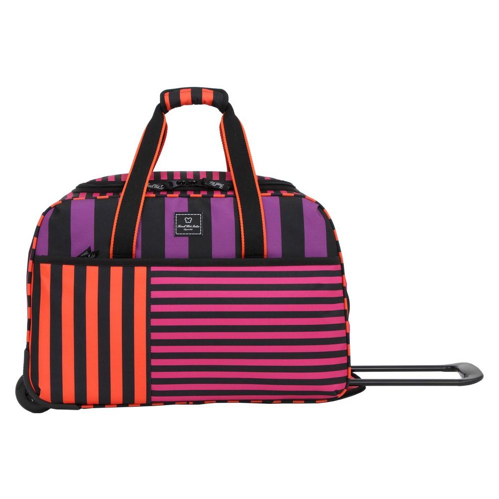 French West Indies 20 Rolling Duffel Bag - Bahia Purple Drift