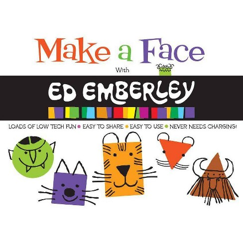Make a Face with Ed Emberley (Ed Emberley on the Go!) - (Paperback) - image 1 of 1