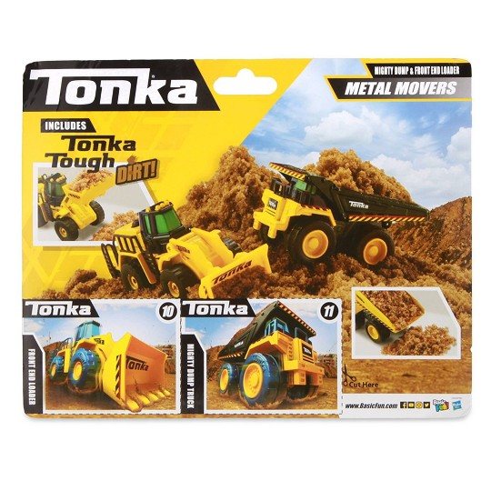 Tonka - Mini Movers Mighty Dump 2 and Front Loader image number null