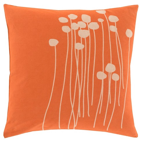 Alyssa Floral Throw Pillow - Surya® - image 1 of 1