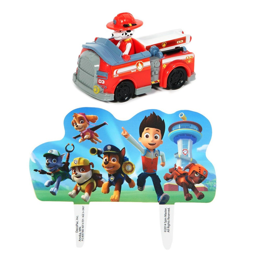 Paw Patrol Cake Topper, Cake Toppers