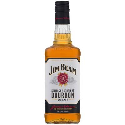 Jim Beam Kentucky Straight Bourbon Whiskey - 750ml Bottle