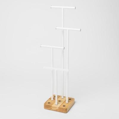 Acro Jewelry Storage Box Natural/White - Umbra