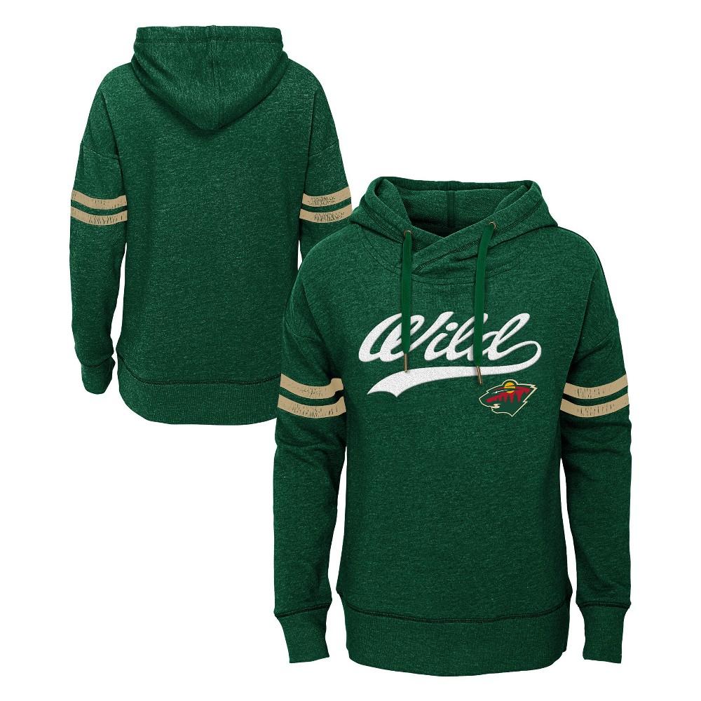Minnesota Wild Girls' OT Fleece Hoodie XS, Multicolored