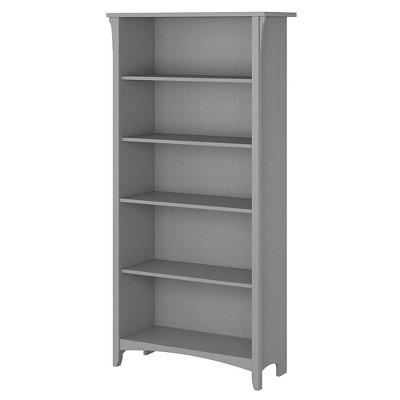 Salinas 5 Shelf Bookcase - Bush Furniture