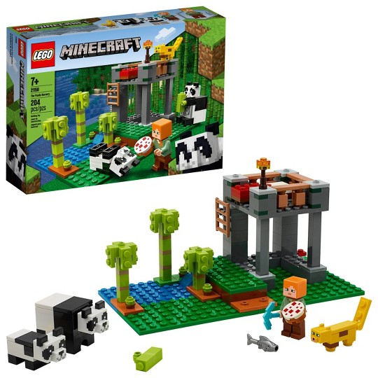 LEGO Minecraft The Panda Nursery 21158 Construction Toy image number null