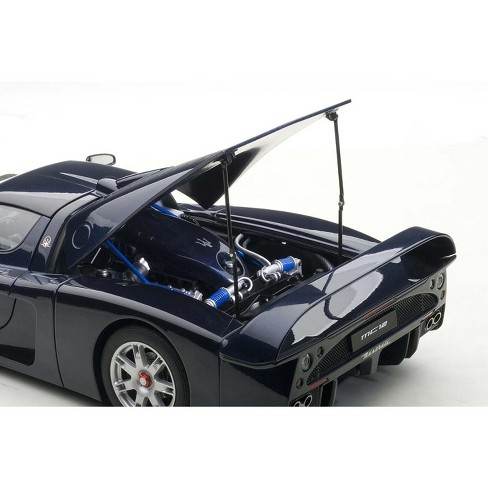 Maserati MC12 Road Car Metallic Blue 1/18 Diecast Model Car by AutoArt