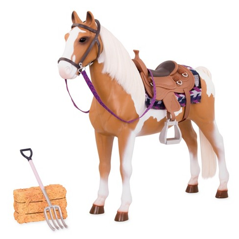 "Our Generation 20in. Stable Horse for 18"" Dolls - image 1 of 4"