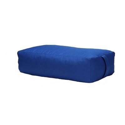 Mind Reader Yoga Rectangluar Bolster Cushion Restorative Meditation Pillow