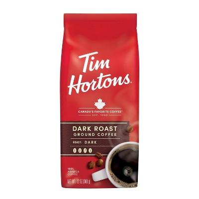 Tim Hortons Dark Roast Ground Coffee - 12oz