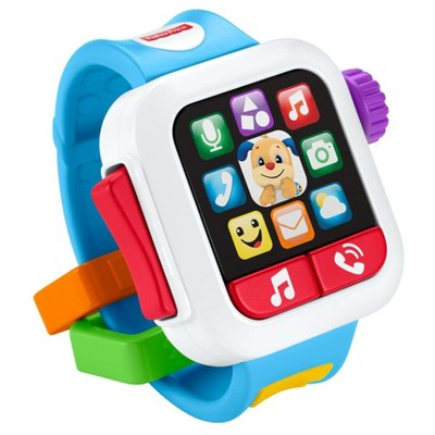 Fisher-Price Laugh 'N Learn Blue Smartwatch