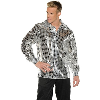 Underwraps Costumes Disco Ball Shirt Adult Costume