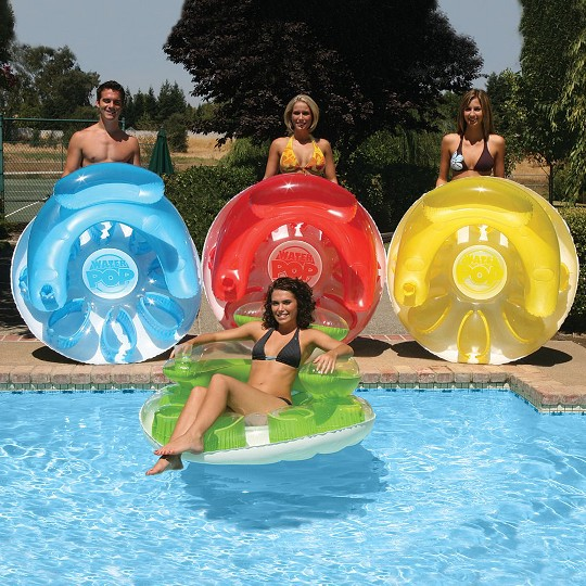 Poolmaster Water Pop Circular Lounger, Adult Unisex image number null