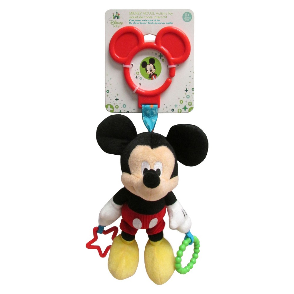 Disney Baby Mickey Mouse Activity Toy - 9, Red