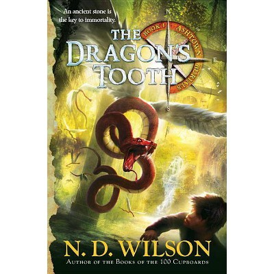 The Dragon's Tooth (Ashtown Burials #1) - by  N D Wilson (Paperback)
