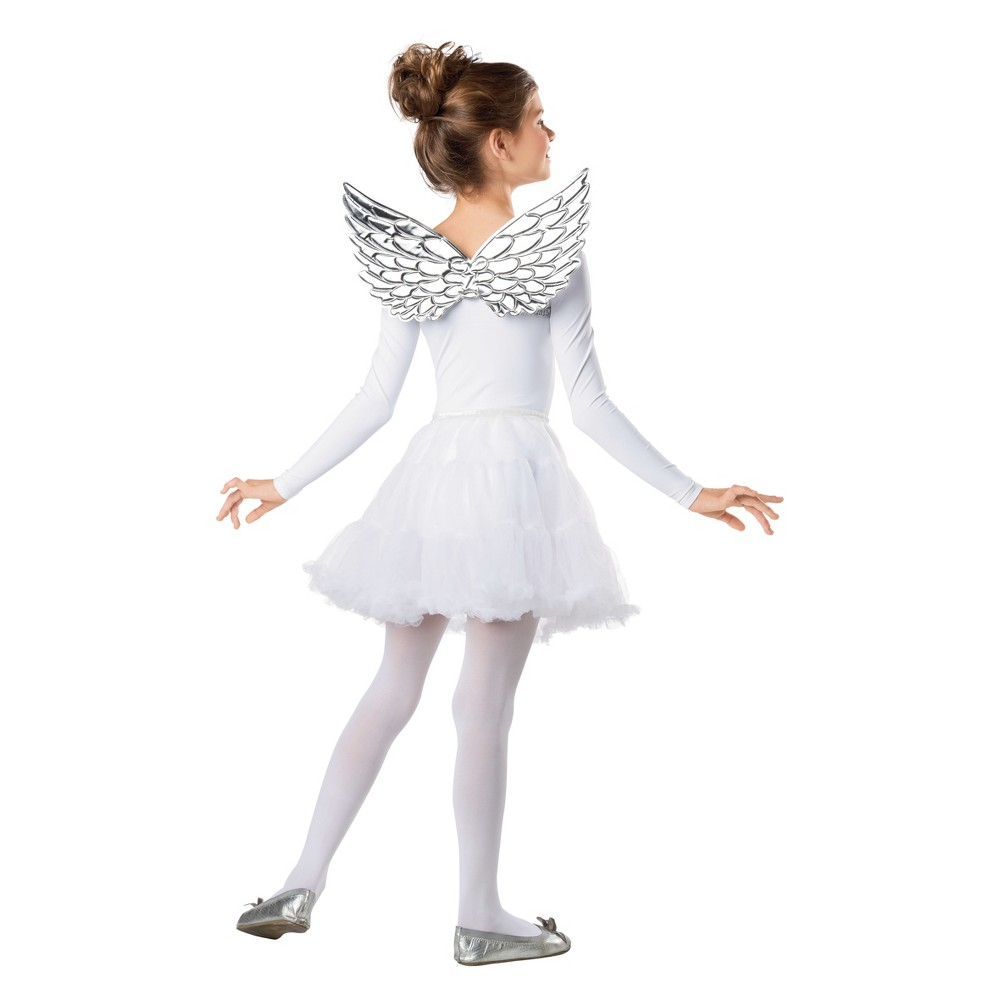 Image of Halloween 2pk Girls' Shiny Wings Silver & Gold - Hyde and Eek! Boutique, Multi-Colored
