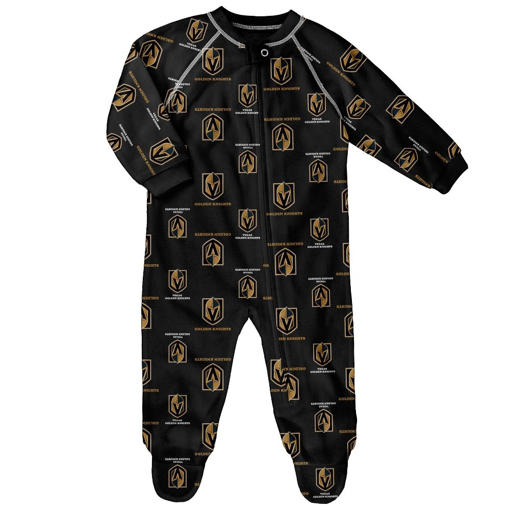 Nhl Vegas Golden Knights Baby Boys 39 Sleeper 6 9m