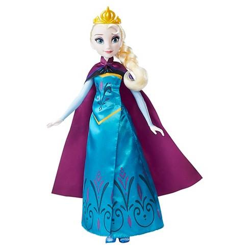 disney frozen royal reveal elsa doll target