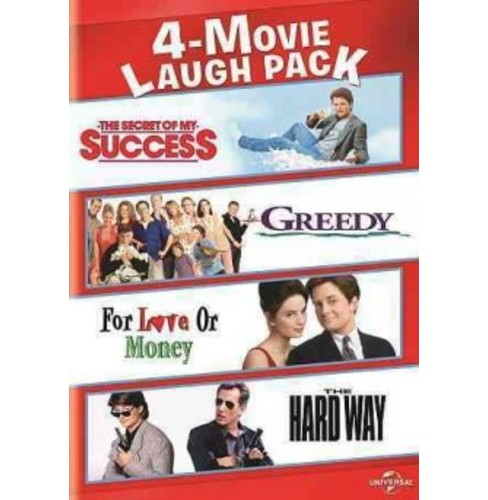 4-Movie Laugh Pack: The Secret of My Success/Greedy/For Love or Money/The Hard Way (DVD) - image 1 of 1
