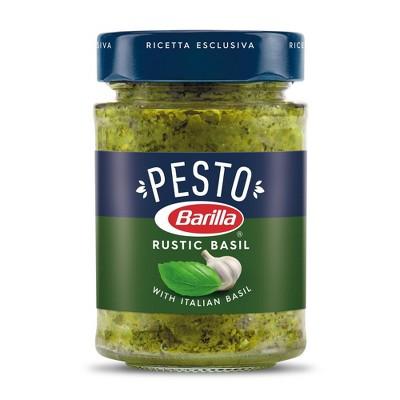 Barilla Rustic Basil Pesto Sauce - 6.5oz