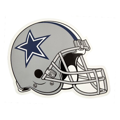 NFL Dallas Cowboys Large Outdoor Helmet Decal - image 1 of 1