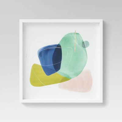 """20"""" x 20"""" Abstract Shapes Framed Wall Canvas - Project 62™"""