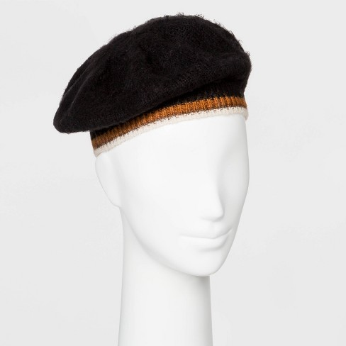 Women's Knit Beret - A New Day™ One Size - image 1 of 1