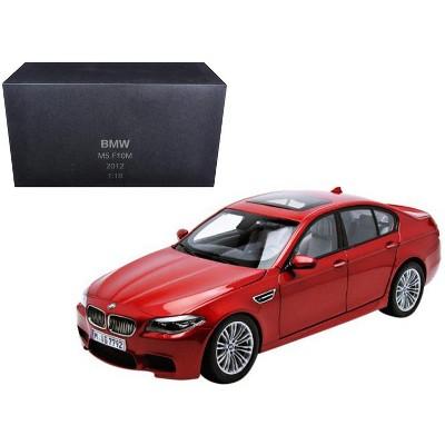 2012 BMW M5 (F10M) Sakhir Orange 1/18 Diecast Model Car by Paragon