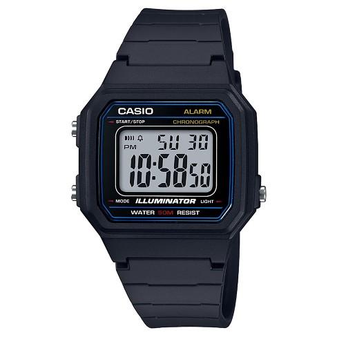 fdc4c6083133 Men s Casio Digital Watch - Black   Target