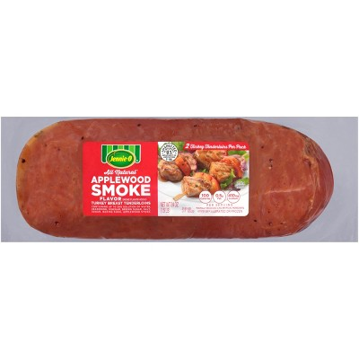 Jennie-O All-Natural Applewood Smoke Turkey Breast Tenderloin - 24oz