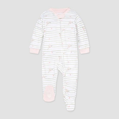 Burt's Bees Baby® Baby Girls' Happy Hummingbird Sleep N' Play - Pink 0-3M