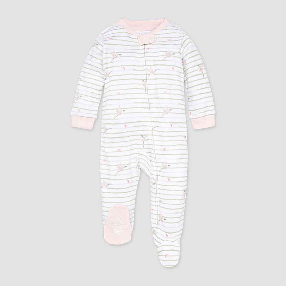 Burt 39 S Bees Baby 174 Baby Girls 39 Happy Hummingbird Sleep N 39 Play Pink 0 3m