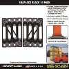 Snap Loc SLSB4FA E Track 1000 Pound Capacity Steel Single Strap Truck Trailer Bed Anchor (5 Pack) - image 3 of 4