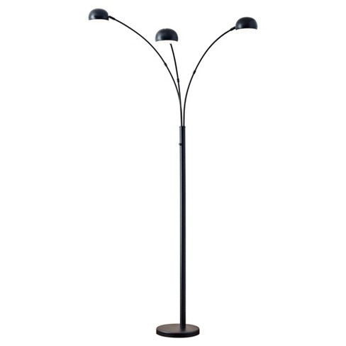 Adesso Domino Arc Lamp - Black - image 1 of 3