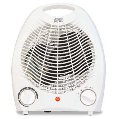 BLACK+DECKER Manual Heater Fan White