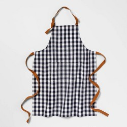 Check Apron Blue - Threshold™