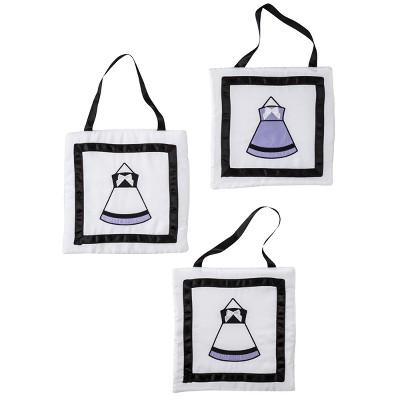 Sweet Jojo Designs Princess Wall Hanging Set - Purple