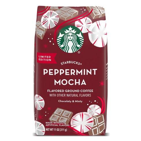 Starbucks Peppermint Mocha Flavored Light Roast Coffee - 11oz - image 1 of 4