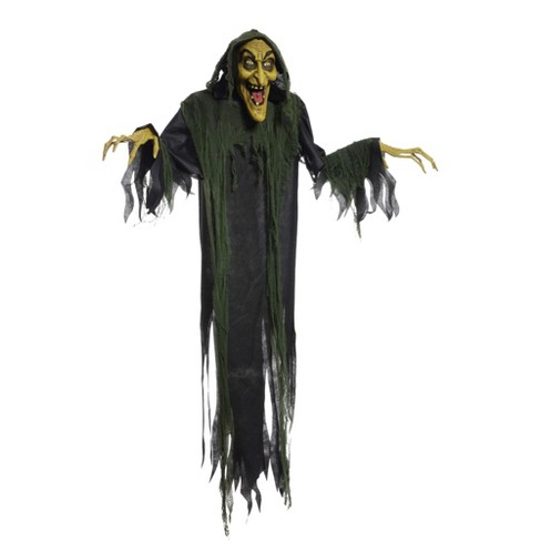 """72"""" Halloween Animated Witch - image 1 of 1"""