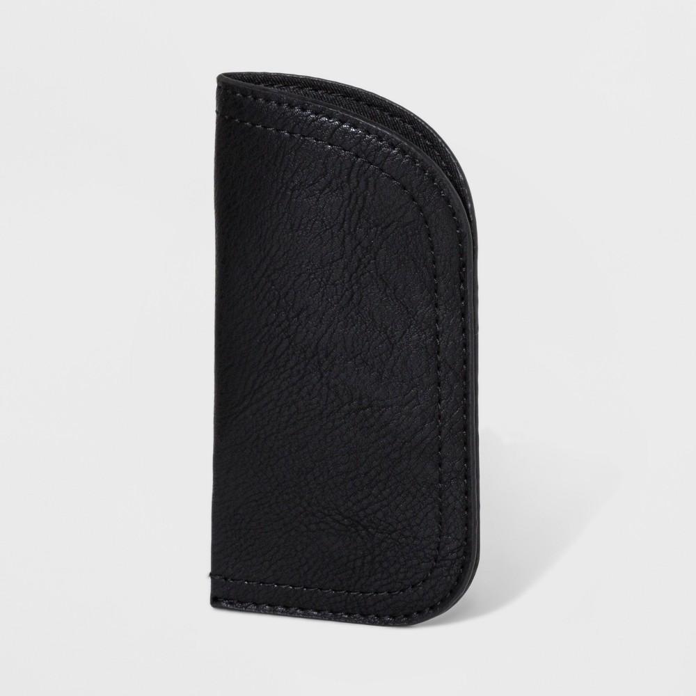 Women's Slip Sunglass Case - Universal Thread Black