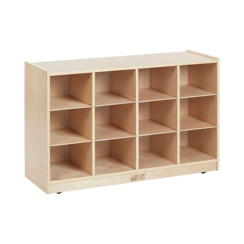Birch 12 Cubby Tray Storage Cabinet - image 1 of 4