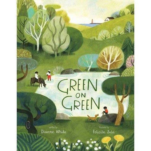 Green on Green - by  Dianne White (Hardcover) - image 1 of 1