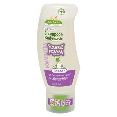 BabyGanics Foamin' Fun™ Foaming Shampoo & Body Wash, Lavender