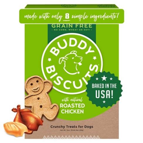 Buddy Biscuits Grain Free Chicken Biscuits - 14oz - image 1 of 4