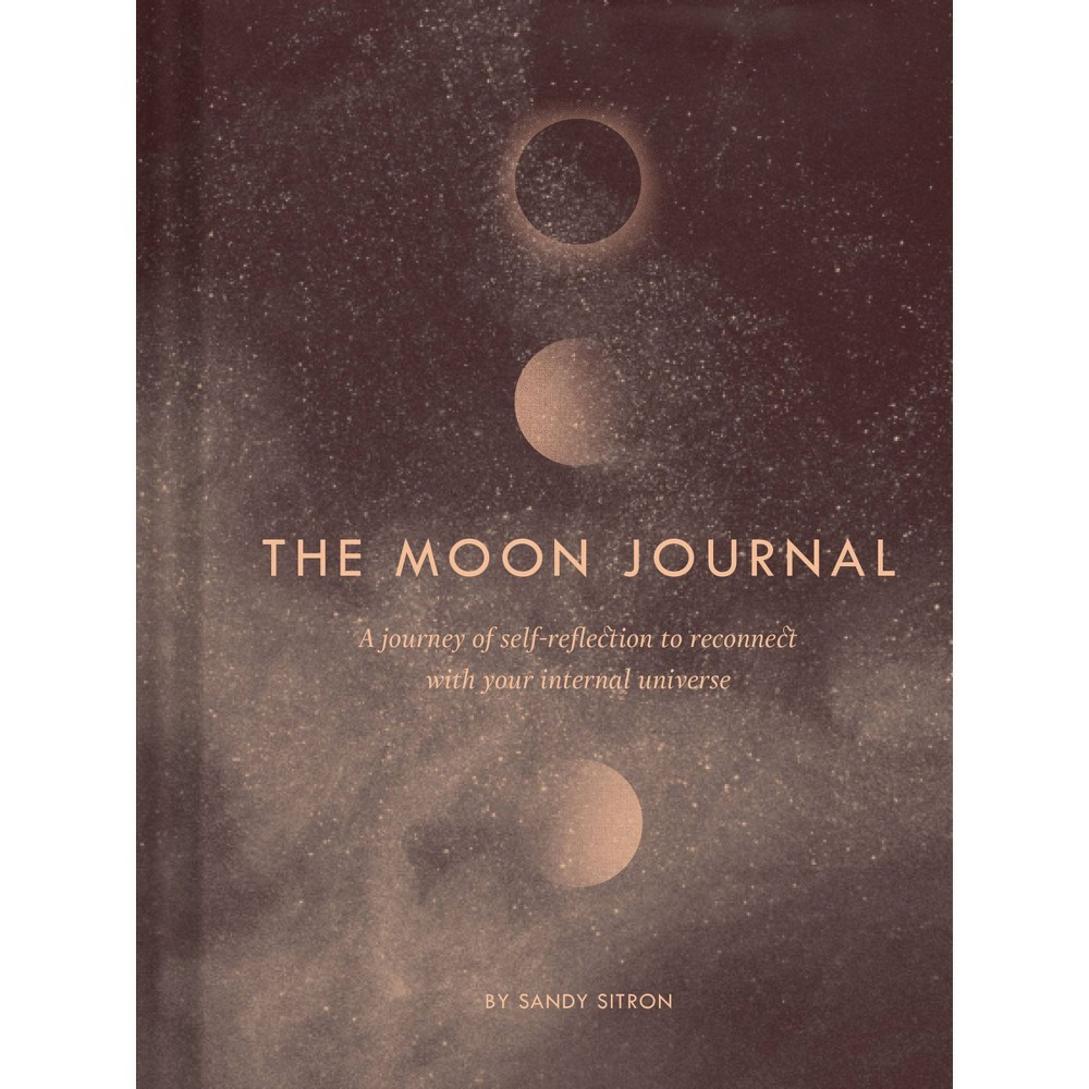 Image of Lined Journal Moon - Chronicle Books