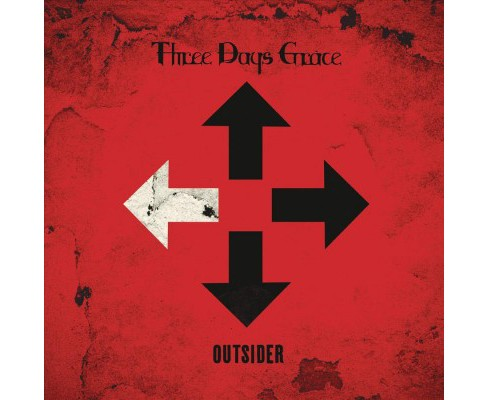 Three Days Grace - Outsider (Vinyl) - image 1 of 1